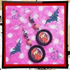 Halloween Kewpie Devil Kawaii Baby Earrings