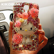 Luxurious 3D Top A Bling Crystals Cat Sparkling For Various Phone mobile Cover