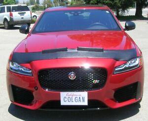 Colgan Custom Sport Hood Bra Mask Fits 16-20 Jaguar XF-S Sedan, XF SPORTBRAKES S