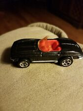Hot Wheels 1999 - Black '65 Corvette Gmtm - Loose / Played With
