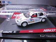 Ninco VW Golf limitée blanc 38 festival de la Infância Rarrr Nouveau neuf dans sa boîte sehselten