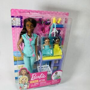 Barbie Careers African American Baby Doctor Doll And Playset You Can Be Anyt
