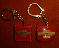 Porte-clés key ring LOT X 2 Type Bourbon ANTAR - pétrole royal au LYS