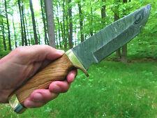 Jagdmesser-Bowiemesser-Outdoormesser-Damastmesser-Bushcrafter-Groß -30cm- (TJ15)