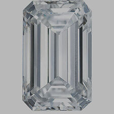 1.01 carat Emerald cut Diamond GIA E color VS1 clarity no flour. Excellent loose