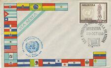ARGENTINIEN 1959 10. Jahrestag der Allgemeinen Erklärung der Menschenrechte SST
