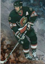 1998-99 Be A Player #247 Jason York Ottawa Senators (2018-0702)