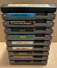Nintendo NES Lot of 10 Sports Games (Kung Fu, RBI Baseball, Golf etc) All Tested