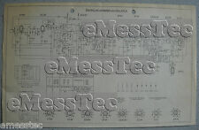 METZ Typ 402 W Schaltplan Ausgabe 1, Stand 02/53