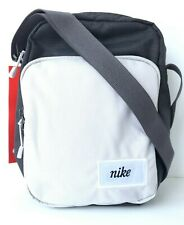 NWT NIKE HERITAGE BAG CROSSBODY SHOULDER CHARCOAL WOLF GREY CK0988- Unisex