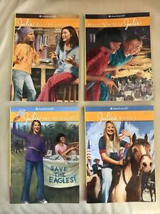 American Girl books set of 4 JULIE adventures
