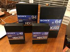 NEW SONY HDCAM DIGITAL VIDEOTAPES -  22 Minute
