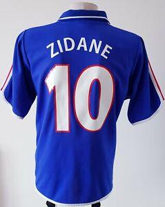 France 2000 - 2002 Home football Adidas shirt #10 Zidane