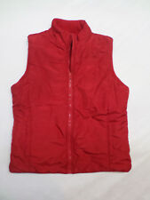 Carolyn Taylor Red Reversible Winter Vest Women's Size M