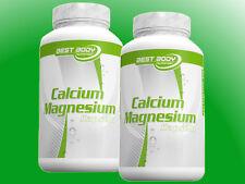 (9,54�'�/100g) Best Body Nutrition Calcium Magnesium 2 x 100 Kapseln