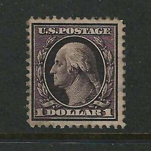 US Scott # 342 Unused, Disturbed Gum