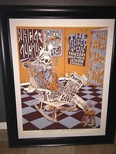 SIGNED MOLLIE TUGGLE CONCERT POSTER,UNCLE LUCIUS,KENNAMAE,FUTURE STUFF,ABBEY PUB