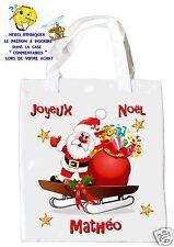 sac shopping noël sac à commissions sac à cadeaux joyeux noel réf 209