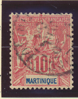 Martinique Stamp Scott #39, Used