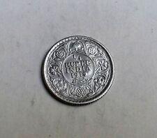 Rupia India George V 1919 cuarto muy buena condición rara moneda muy agradable