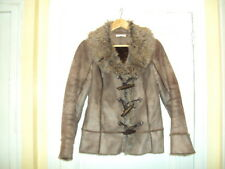 Manteau marron en 40 en TBE