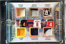 2016 ITG Used Legendary Starting 6 Gold Spectrum Howe Gretzky Orr Ovy Patch 1/1
