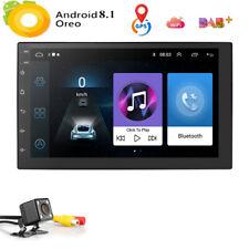"New listing Android 8.1 Gps Navigation 7"" Car Stereo No Dvd Player Radio Usb 2Din+Camera New"