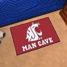 "Washington State Cougars Man Cave 19"" X 30"" Starter Area Rug Mat"