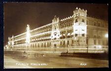 Mexico~1920's MEXICO CITY~PALACIO NACIONAL ~ RPPC