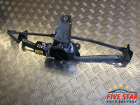2008 Renault Kangoo 1.5 dCi Front Windshield Wiper Linkage With Motor 53563102
