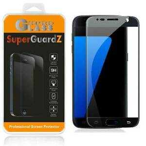2X SuperGuardZ 9H Tempered Glass Screen Protector Shield For Samsung Galaxy S7