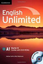 English Unlimited Starter B Combo with DVD-ROMs (2), Robinson, Nick, Doff, Adria