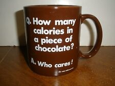 How Many Calories in a Piece of Chocolate Mug