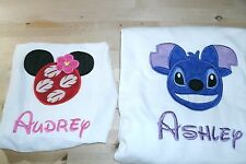 Lilo OR Stitch Disney Mouse Ears Personalized Shirt.. ONLY ONE