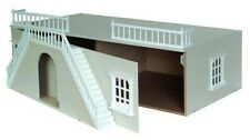 """Dolls House Basement Painted Light Grey 1:12 Scale Ready to Assemble 21"""" x 32"""""""