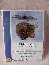 Mouseloft stitchlets Cross Stitch Kit ~ ~ Highland Vache Nouveau