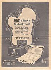 """MÜNCHEN, Werbung 1939, Zigaretten-Fabrik AUSTRIA """"Milde Sorte"""" Schnupf-Tabak Rau"""