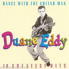 DUANE EDDY - Dance With The Guitar Man: 18 Greatest Hits (UK 18 Tk CD Album)