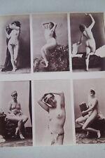CALAVAS ETUDE DE NUS  TIRAGE ALBUMINE ALBUMEN VINTAGE PRINT 1880 PEINTURE ref10