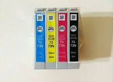 Epson 73N Genuine Ink Cartridge Set T0731N T0732N T0733N T0734N C110 CX7300