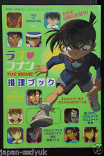 Case Closed Detective Conan Movie Fan Book Love Conan