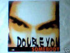 "DOUBLE YOU Somebody 12"" ROBYX ITALO ZONE"