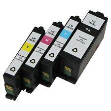 4 pack Lexmark 150XL Compatible Ink Cartridge Set For Lexmark 150 Pro715  Pro915