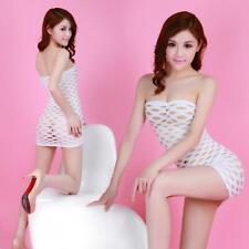 US Size XS S M L Sexy Lingerie Bodystocking Dress Club Sleepwear Nightwear P24