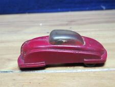 """VINTAGE AERO DYNAMIC PLASTIC  3 1/2"""" RED CAR  WITH DOME ROOF    560171"""
