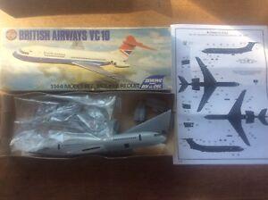 Model Kit 1/144 Airfix British Airways VC 10 Series 4 04171-3 + Instructions