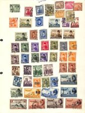 [OP4108] Worldwide lot of stamps on 12 pages