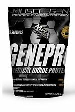 Genepro Musclegen Research Medical Grade Protein–30 Servings 11.8 oz New Look!