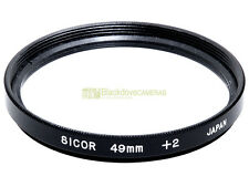 49mm. aggiuntivo macro +2 diottrie Sicor. Close up.