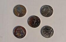 Lot 5 Mini Médailles Monnaie de Paris Harry Potter 2021 - L10 Harry